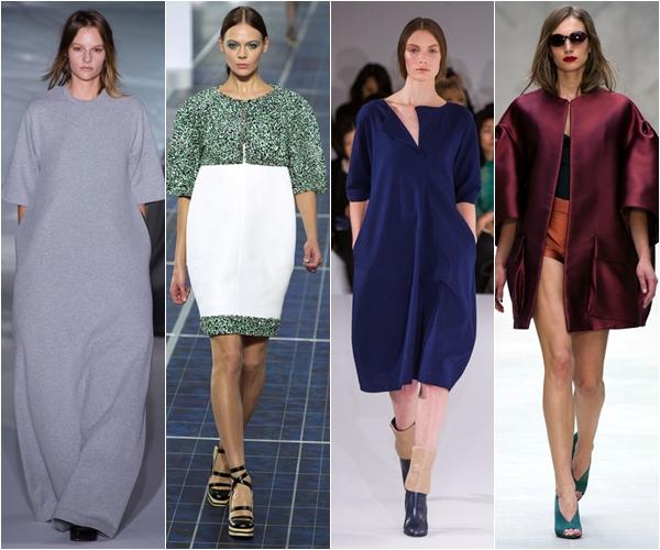 Весна-лето 2013 модные тенденции oversize