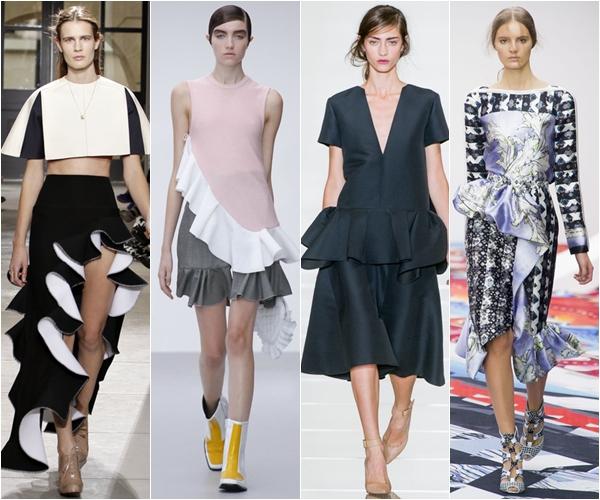 Весна-лето 2013 модные тенденции воланы