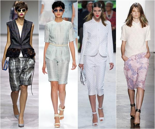 Весна-лето 2013 модные тенденции бриджи и капри