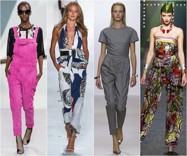 Весна-лето 2013 модные тенденции комбинезоны