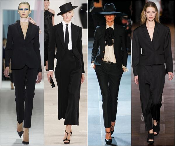 Весна-лето 2013 модные тенденции женские смокинги