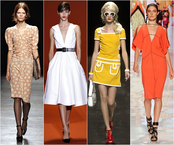Весна-лето 2013 модные тенденции ретро
