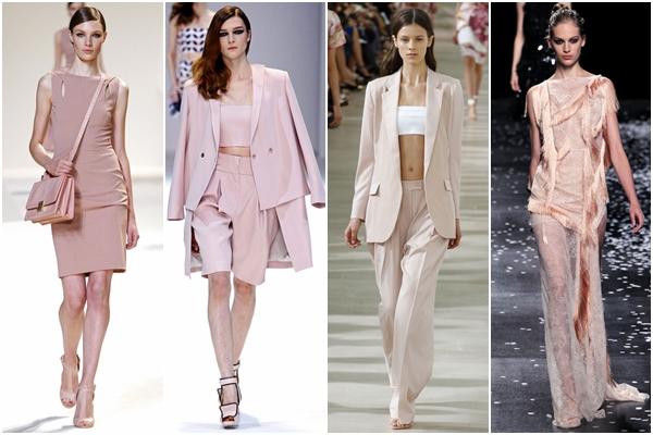 модные цвета 2013 пастельно розовый