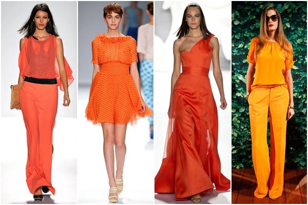 цвета 2013 оранжевый