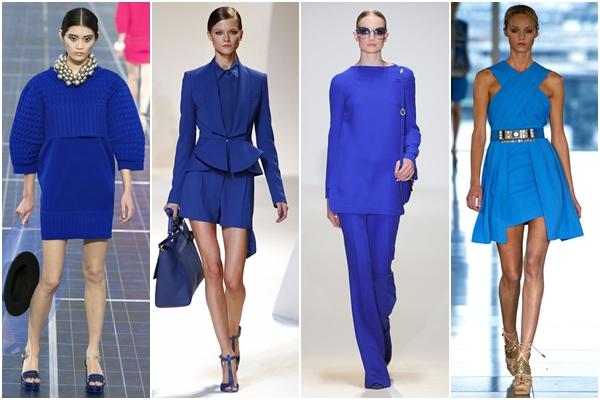 модные цвета 2013 синий