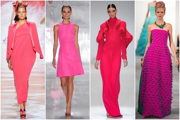 модные цвета 2013 яркий розовый