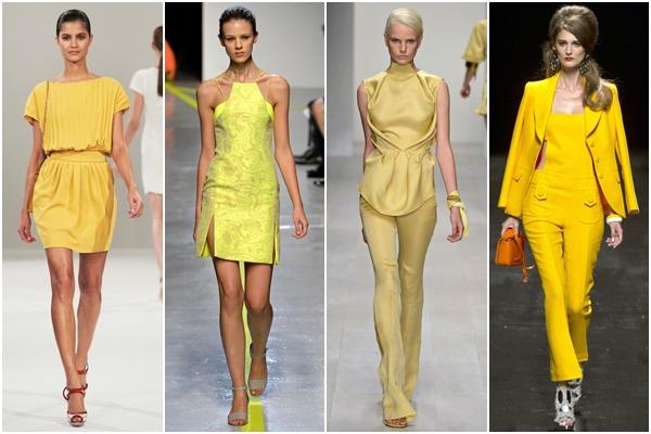 цвета 2013: желтый