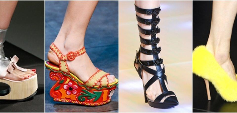Обувь весна-лето 2013: тенденция – эпатаж
