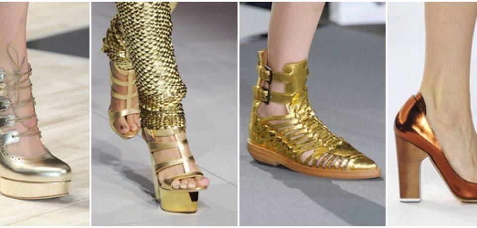 Обувь весна-лето 2013: модные туфли, летние сапоги