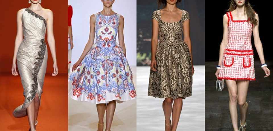 Стильные платья 2013: весна-лето, классический вариант