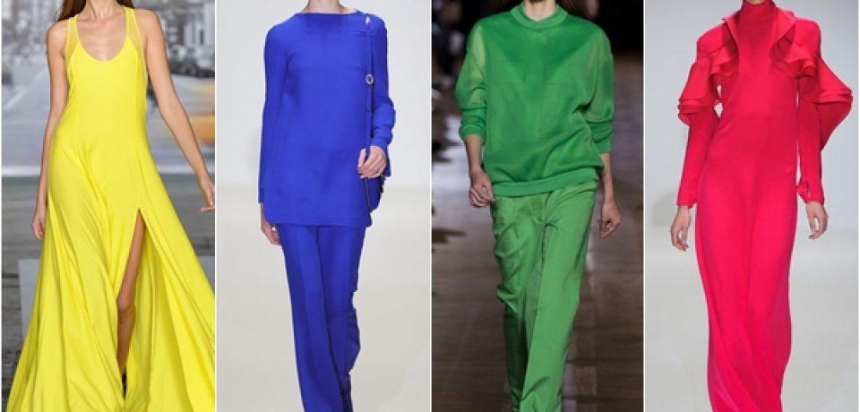 Цвета 2013 года: модный неон, пастельные одежды, благородные оттенки
