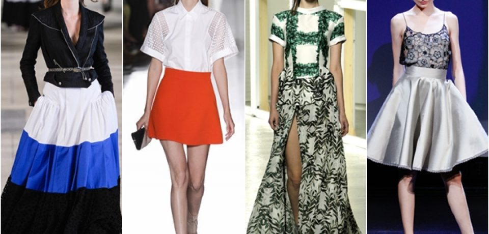 Юбки весна-лето 2013: мода на женственность