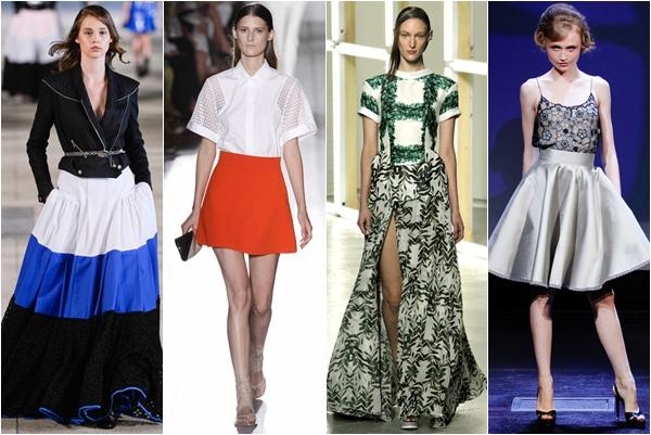 юбки весна-лето 2013 мода на женственность
