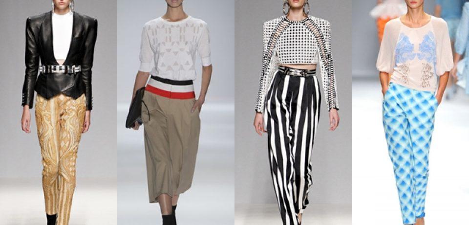 Женские брюки 2013: фото с мировых подиумов