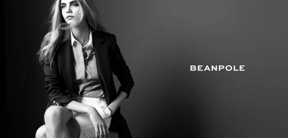 Кара Делевинь в рекламной кампании Beanpole весна-2013