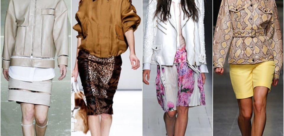 Женские куртки весна 2013: торжество молодежного стиля
