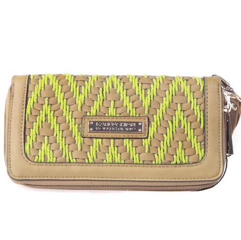 сумка kardashian kollection 2013 желтый кошелек бумажник