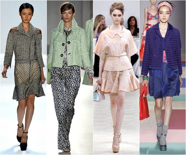 жакеты и пиджаки 2013 фактурные
