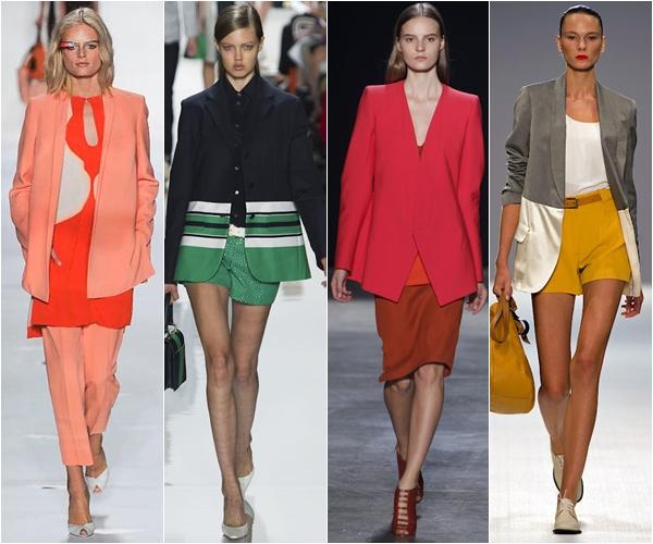 длинные жакеты и пиджаки 2013