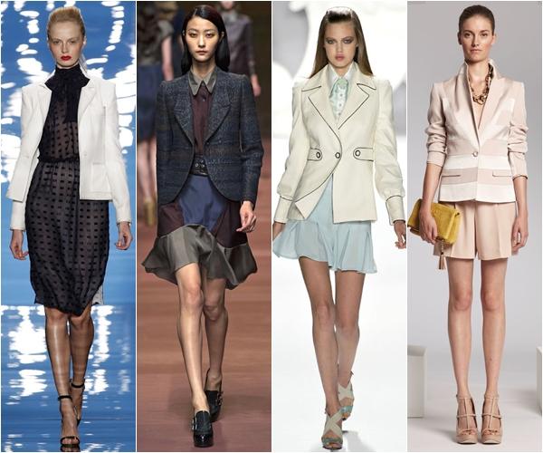 классические жакеты и пиджаки 2013