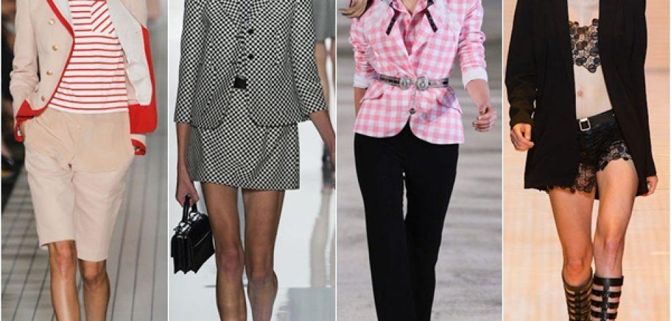 Жакеты, пиджаки и блейзеры весна-лето 2013 (52 фото)