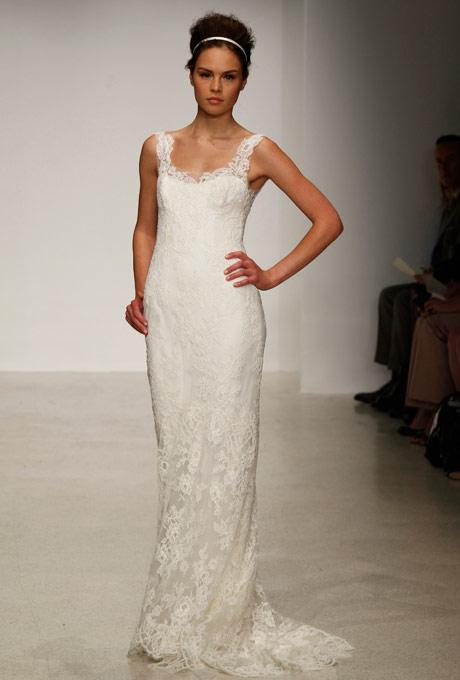 кружевное свадебное платье Christos