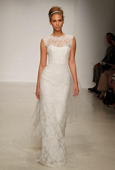 кружевное платье Christos 2013