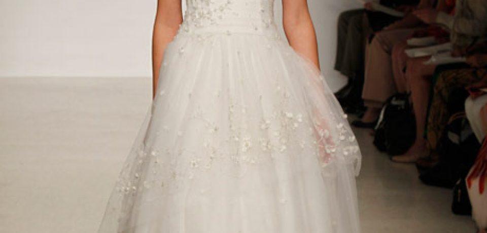 Свадебные платья бюстье 2013