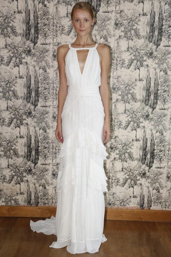 Свадебные платья в греческом стиле 2013  temperley london