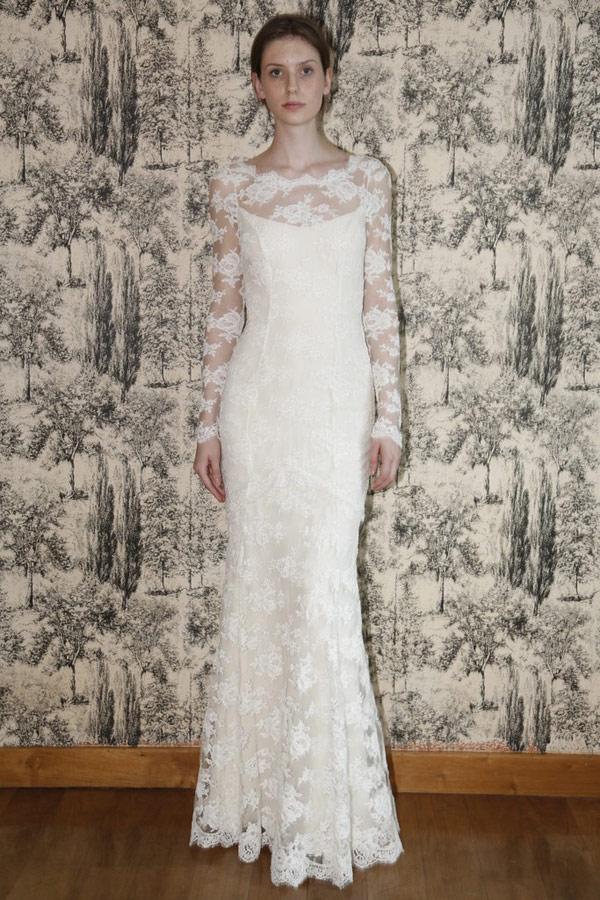 кружевное платье Temperley London 2013