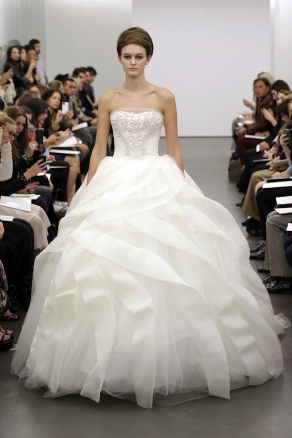 свадебное платье принцессы vera wang 2013
