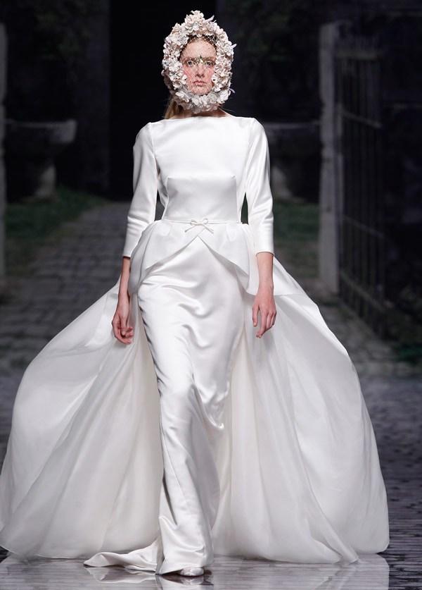 свадебное платье с длинным рукавом 2013 Victorio Lucchino