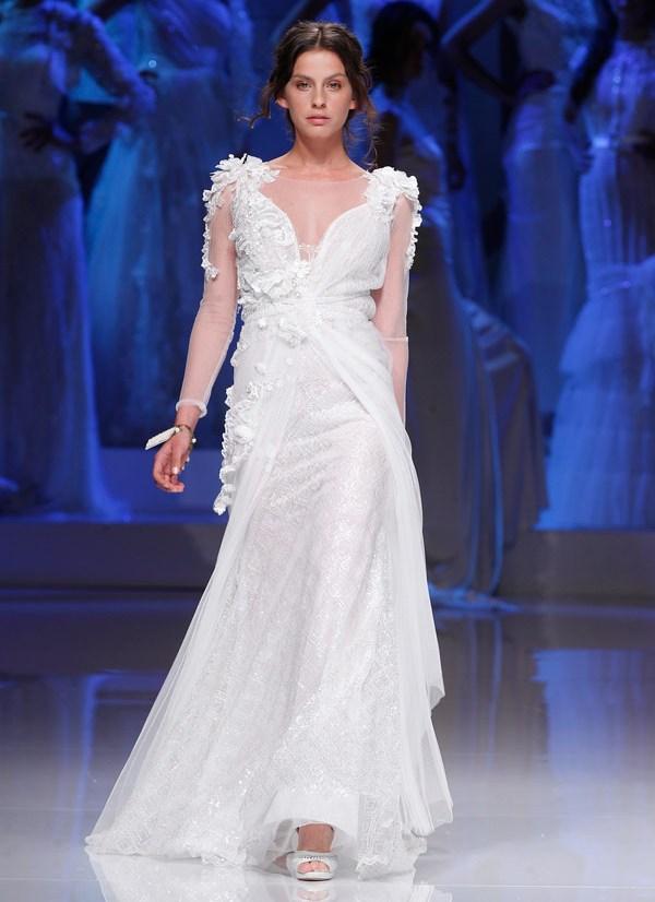 Свадебные платья в греческом стиле 2013  yolan cris