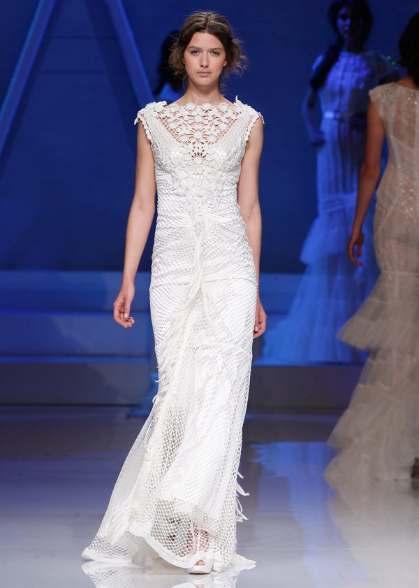 кружевное свадебное платье Yolan-Cris 2013