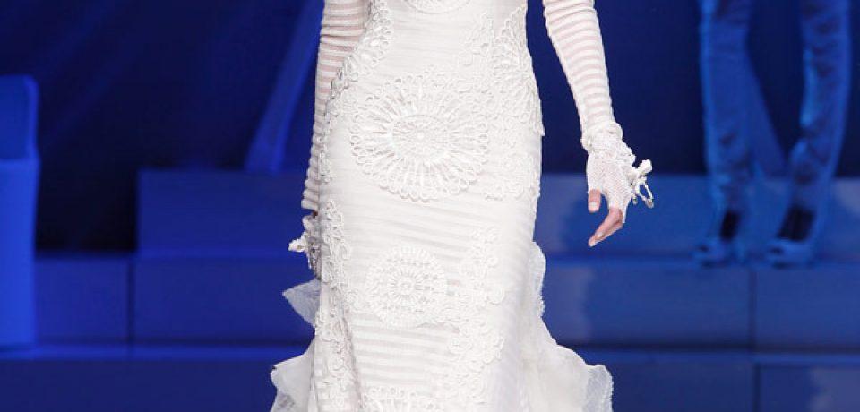 Свадебные платья с длинным рукавом 2013