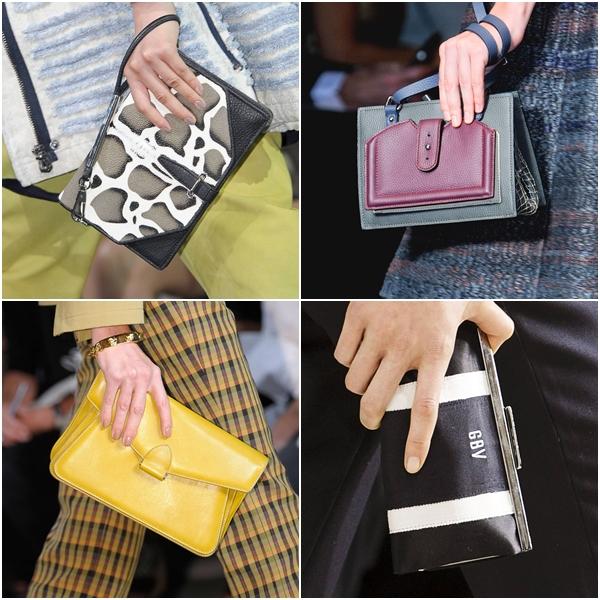модные женские сумки весна-лето 2013 - барсетки