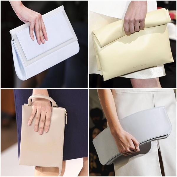 модные женские сумки весна-лето 2013 - гладкие лаконичные минималистичные