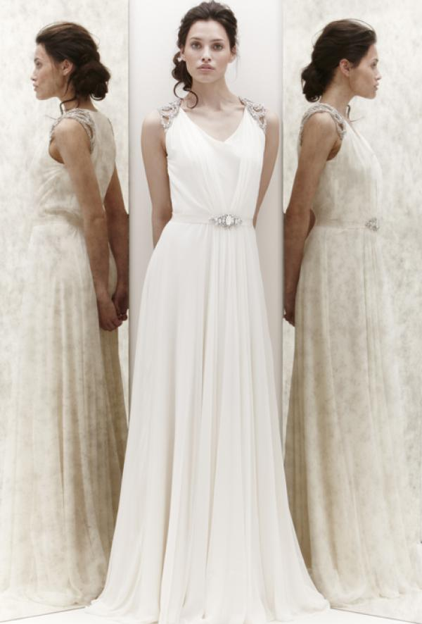 Свадебные платья в греческом стиле 2013 jenny packham