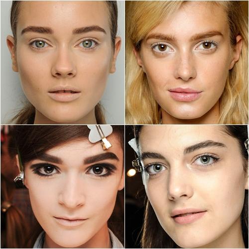 макияж весна лето 2013 широкие брови
