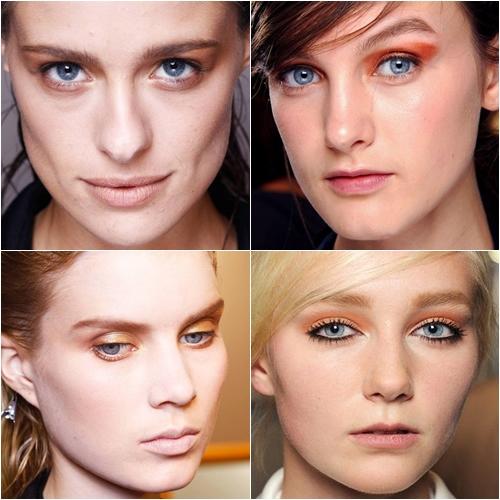 макияж весна лето 2013 коричневые тени