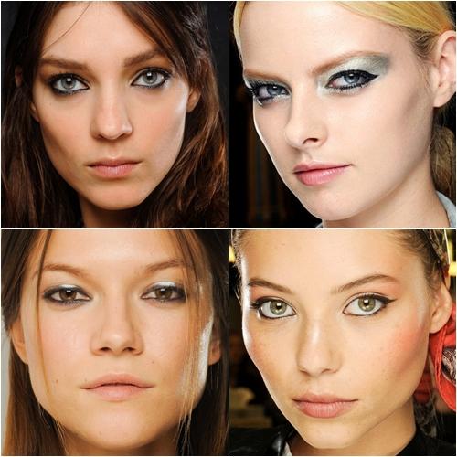 макияж глаз весна-лето 2013 подводка лайнер