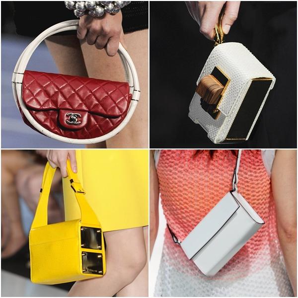 модные женские сумки весна-лето 2013 - миниатюрные