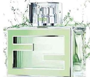 eau frache fan di fendi свежий зеленый летний аромат