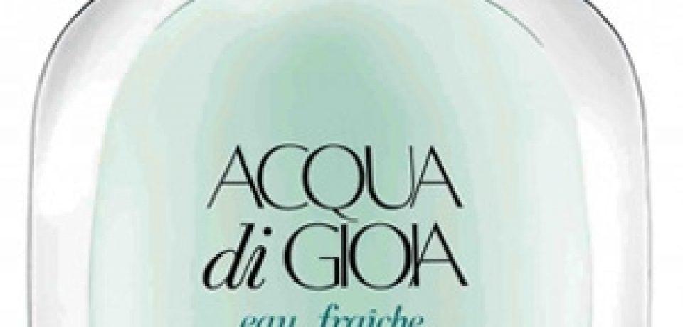 Acqua Di Gioia Eau Fraiche – свежий летний аромат Giorgio Armani