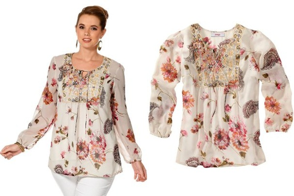 Блузки Для Полных Женщин Купить В Интернет Магазине