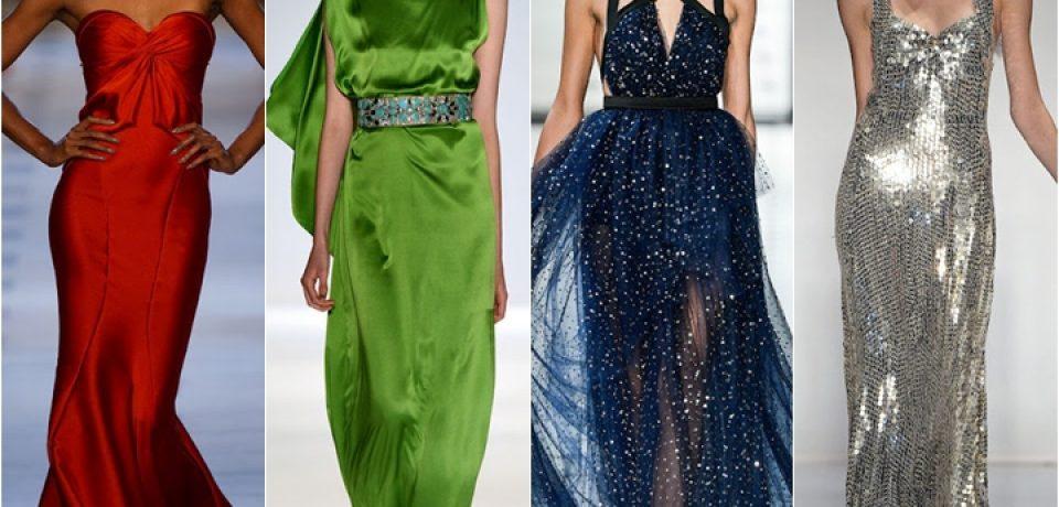 Вечерние платья лето 2013: классика, женственность, элегантность, авангард