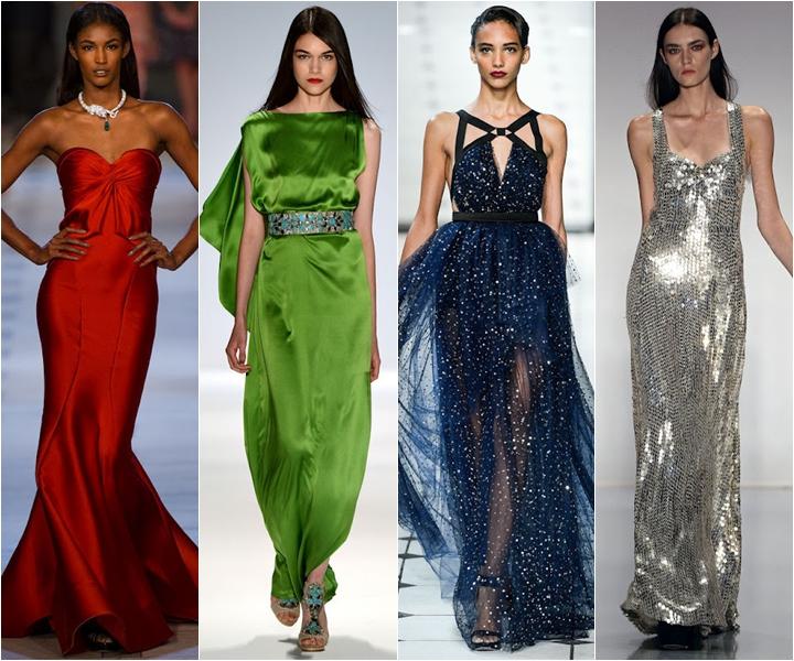 блестящие вечерние платья лето 2013