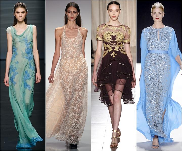 вечерние платья 2013_вечерние платья лето 2013 с вышивками и аппликациями