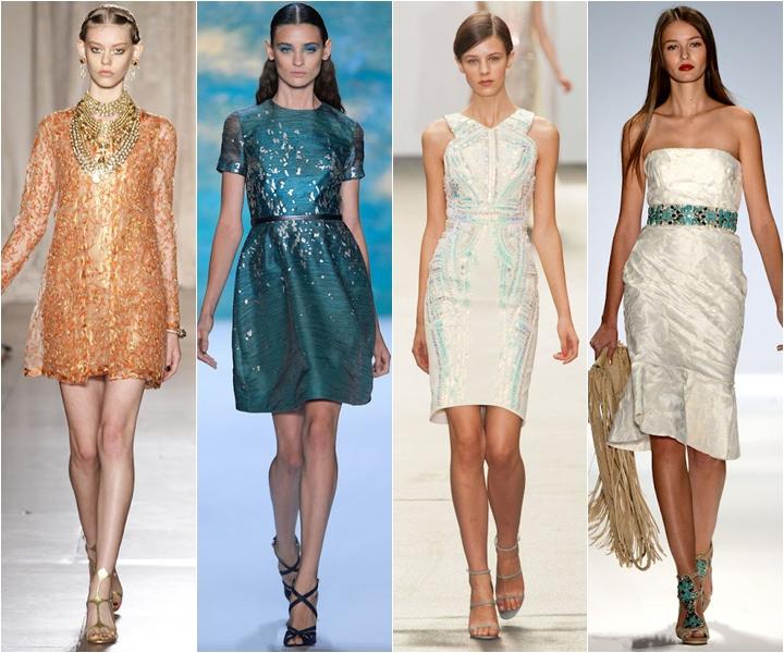 вечерние платья коктейльные лето 2013 короткие