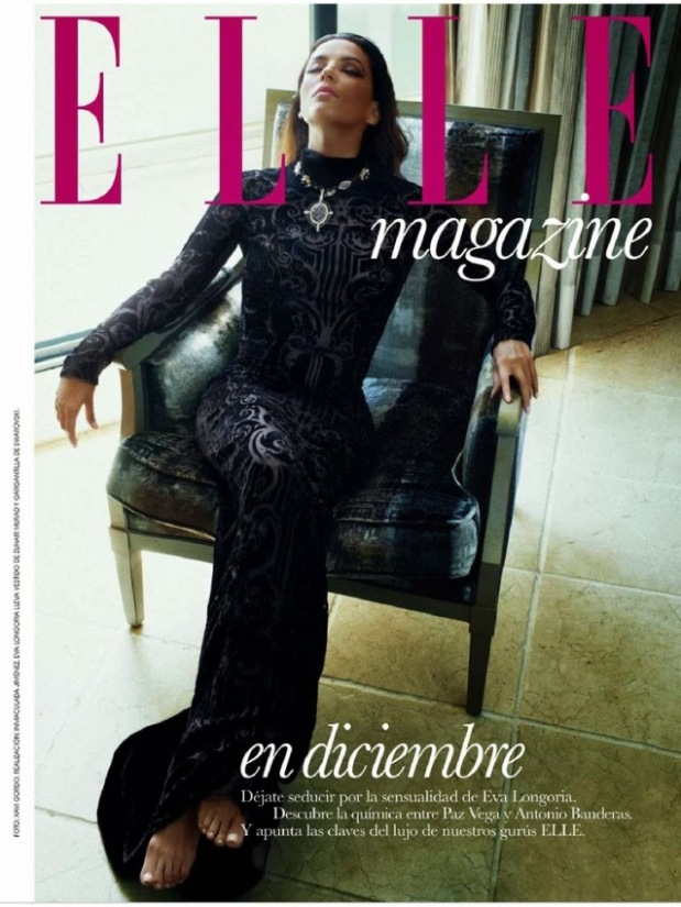 Ева Лонгория Elle декабрь, фотосессия_2